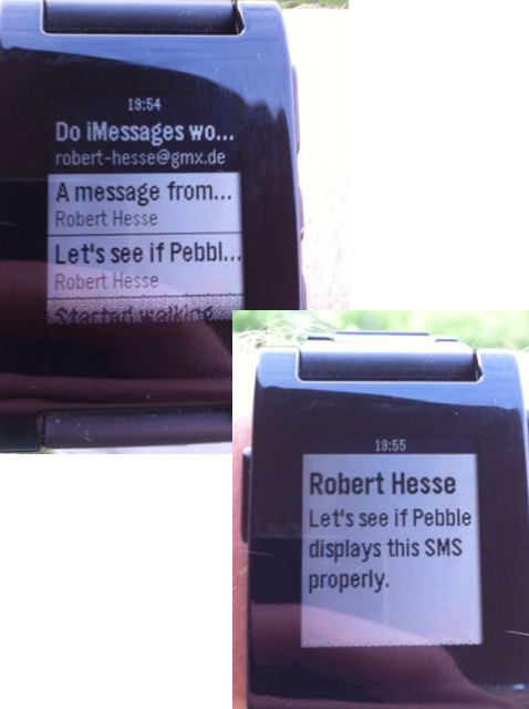 Messages Screen